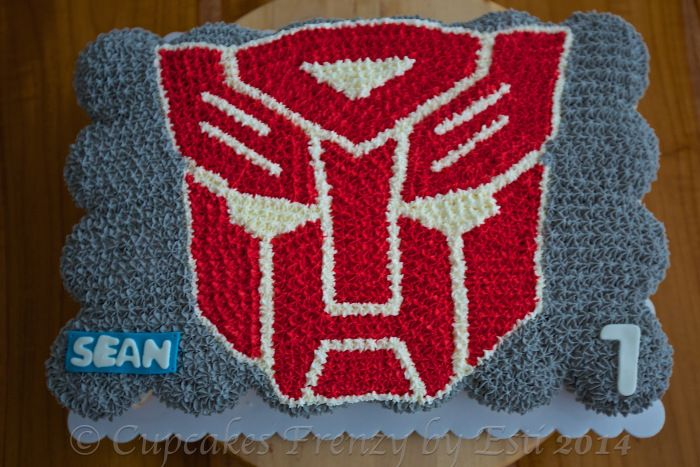 Transformer Cake Decorations Australia