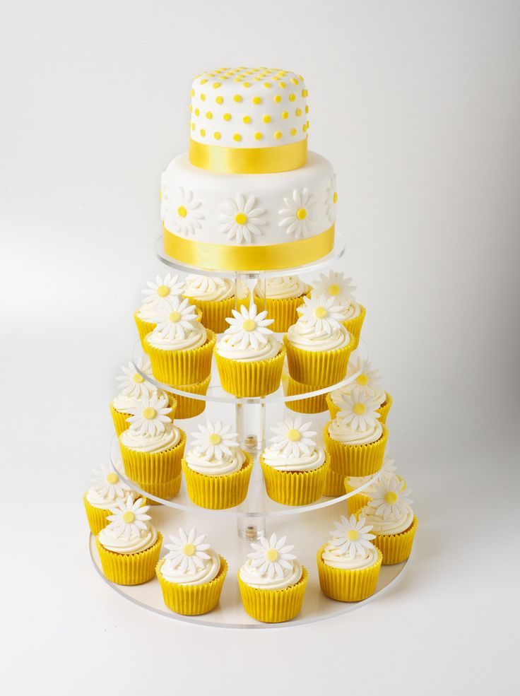 Daisy Cupcake Tower | by Cupcake Occasions uk