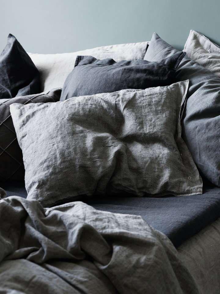 756dfa30dc Lovely Chambray Bettwäsche von Kardelen im Leinenbettwäsche Shop von Lovely  Linen. Einfach online versandkostenfrei kaufen