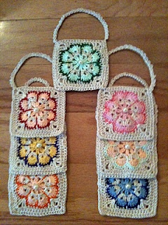 Bags for soap - I like this idea as a nice gift.