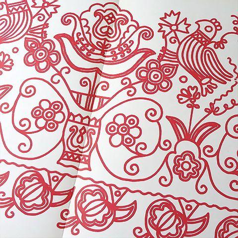 ハンガリーで見つけたヴィンテージ・刺繍パターン集です。Udvarhely(Székelyudvarhely)の物をはじめ、ハンガリー系ルーマニア人達に伝わ...