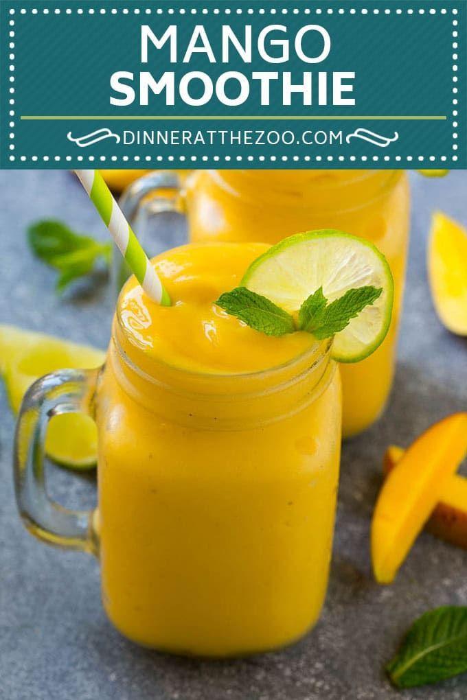 Mango Smoothie Recipe Mango Recipe Healthy Smoothie Mango Smoothie Drink Dinneratthezoo Mango Smoothie Recipes Mango Smoothie Mango Recipes