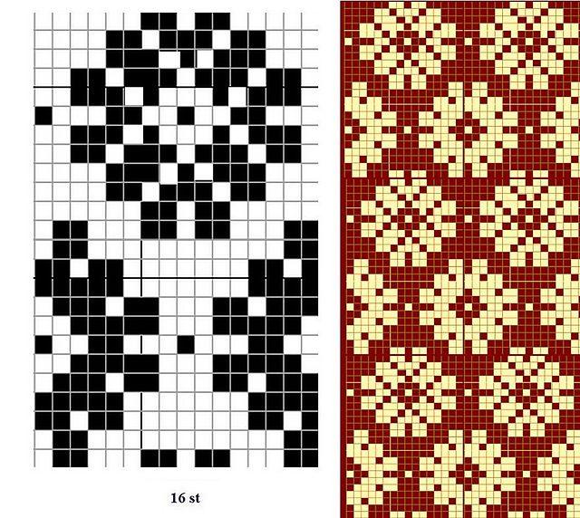 109 best Knitting Chart Whimsies images on Pinterest | Knitting ...