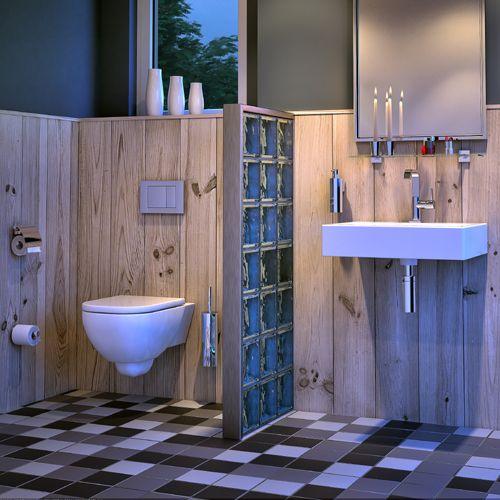 Met Nelio zet Geesa een stoere, maar zeer stijlvolle serie neer. Door de spannende mix van rondingen en een vierkante wandbevestiging heeft Nelio een eigentijdse uitstraling. Daardoor is deze serie zowel toe te passen in een robuust en stoer badkamerinterieur als in een meer elegante omgeving.