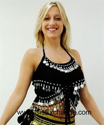 Belly Dance Choli Tang Top