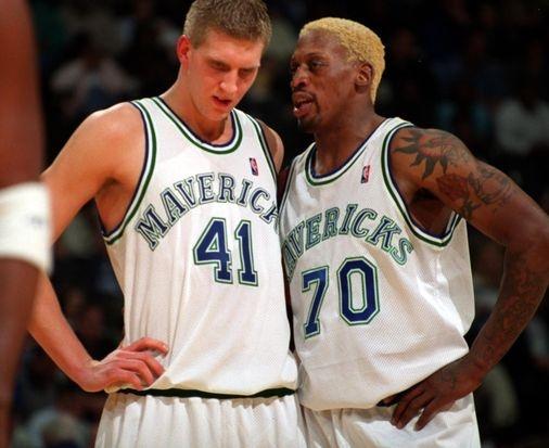 Wow, What A Memory...: Basketball Classic, Dirk Nowitzkinek, Basketball Lov Forever, Nowitzki Dennis, Dallas Mavericks, Memories, Dennis Rodman S, Luv Basketball, Athletic