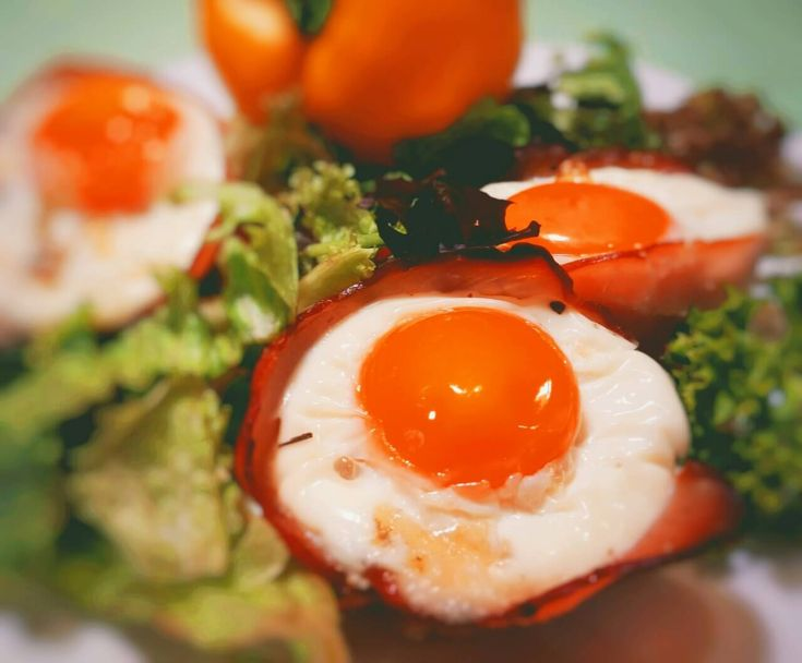 Delicious egg cups
