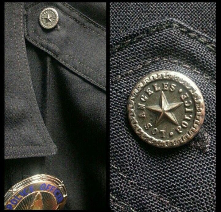 Lapd Uniform P Buttons Lapd Police Los Angeles Police Department