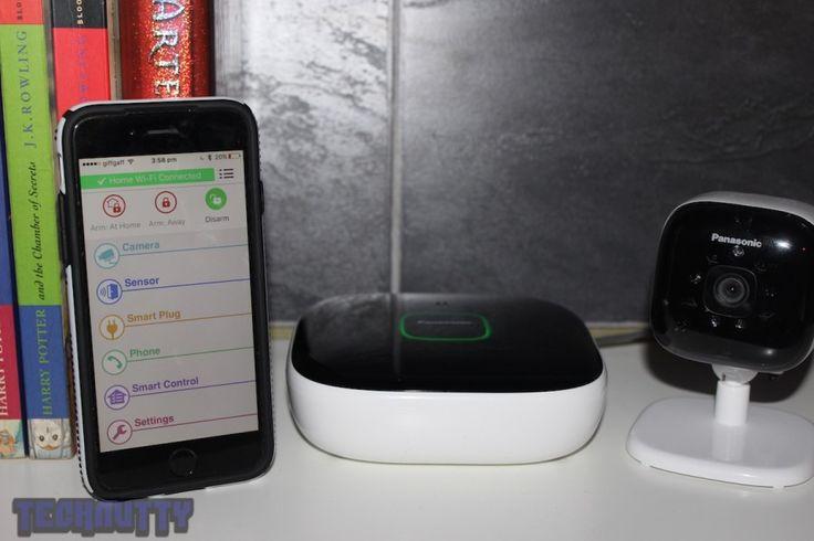 Panasonic Smart Home Monitoring and Control Kit Review - http://tchnt.uk/1RaWvUH