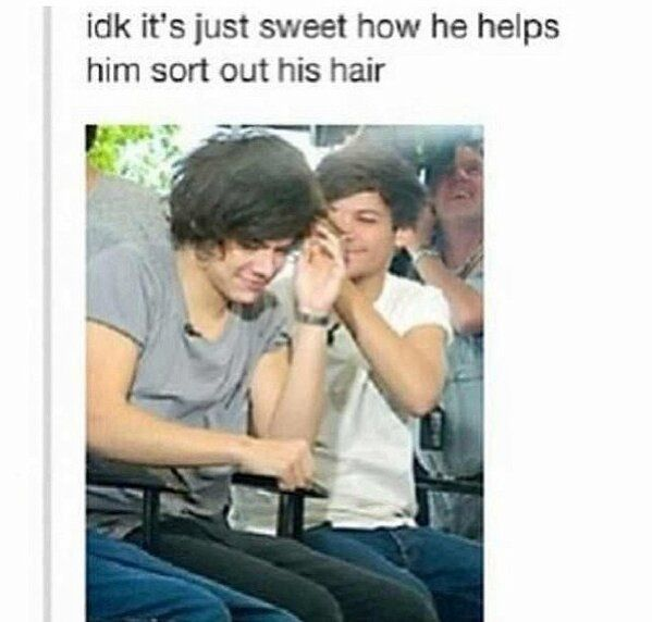 It's not brotherly love ... It's Larry Stylinson . ;D