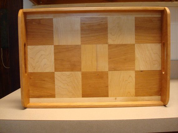 Serving Tray by MainStCrafts on Etsy