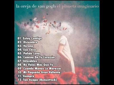 """La Oreja de Van Gogh - Canciones de """"El Planeta Imaginario"""" (Cadena Dial)"""