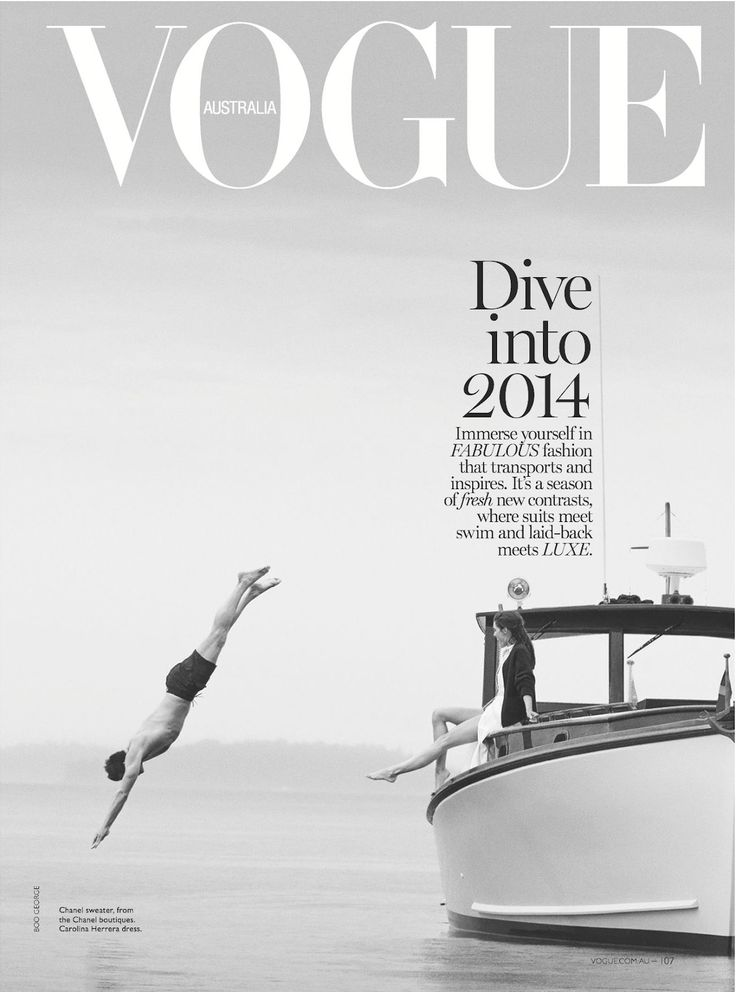 vogue australia issue 12 2013 magazine cover graphic