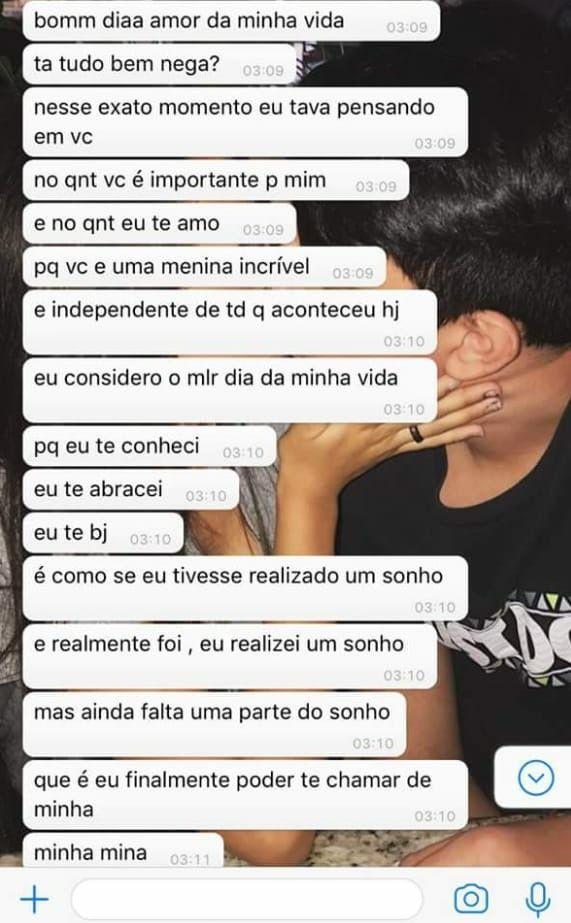 Pin De Luuh Em Whatsapp Frases De Amor Namorada