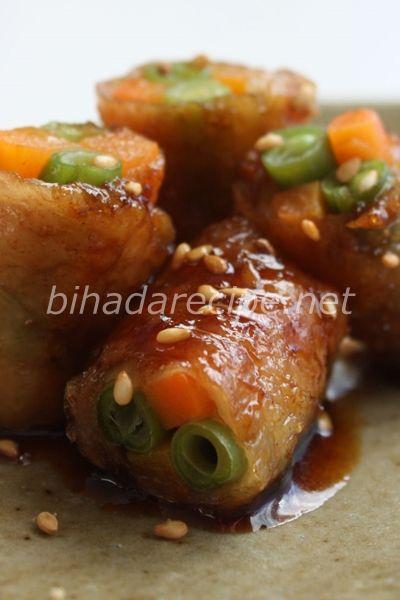 野菜の鶏皮巻き カリカリ揚げ- 美肌レシピ【ハダレピ】