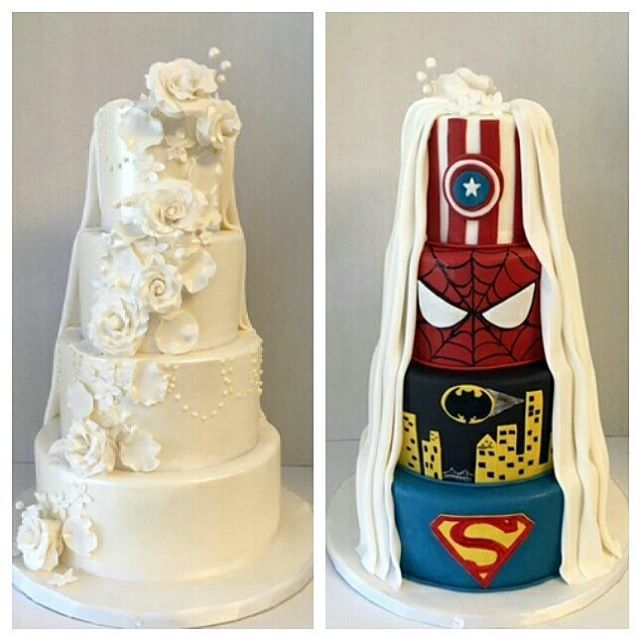 superhero wedding cake ideas best 25 wedding cake ideas on 20606