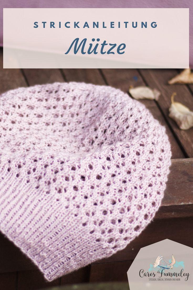 Mütze Aus Sockenwolle Stricken Palanca Handarbeiten Stricken