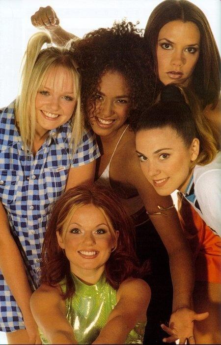 Spice Girls: in de jaren 90 kon je wenkbrauw niet dun genoeg zijn.