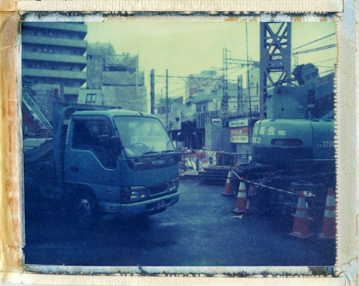 moominsean | Shimokitazawa, Tokyo | Polaroid 190, Type 669