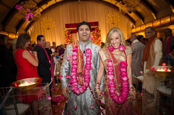 Western & Indian influences create audacious wedding | Strictly Weddings
