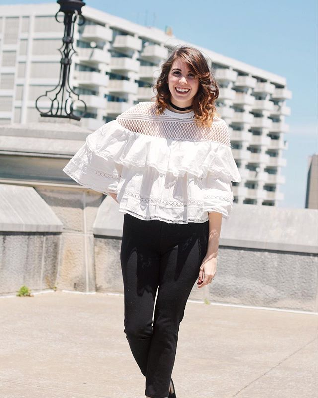 Between CMA fest, the Stanley Cup Playoffs, jet lag and moving, this girl is ready for a weekend off! Too bad I have boxes to unpack and a hockey game on Sunday. At least I have this cute ruffled top to get me through! http://liketk.it/2rE7z @liketoknow.i