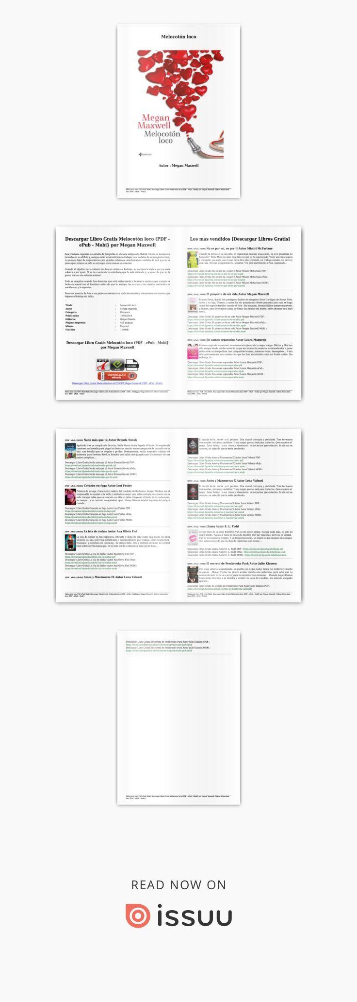 Descargar Libro Gratis Melocotón Loco Pdf Epub Mobi Por Megan Maxwell Descargar Libros Gratis Libros Gratis Megan Maxwell
