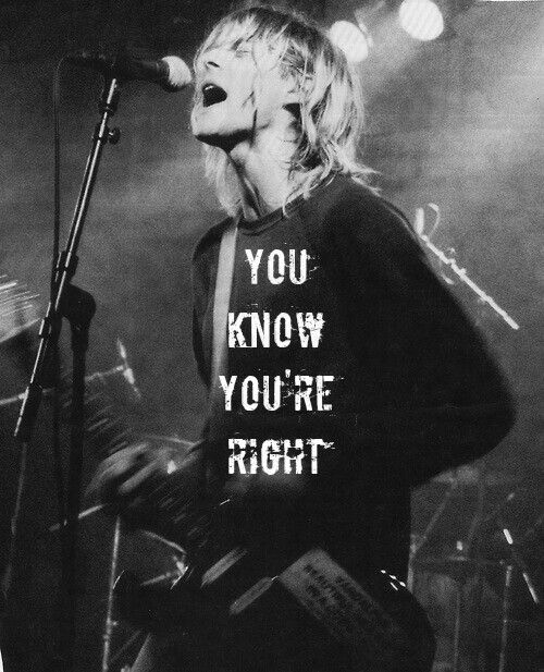 You Know You're Right | Kurt Cobain | Nirvana