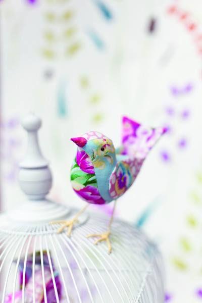 Fabric Bird Mooncie