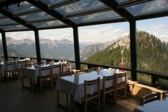 The Summit Restaurant - Banff, Canada - another great view