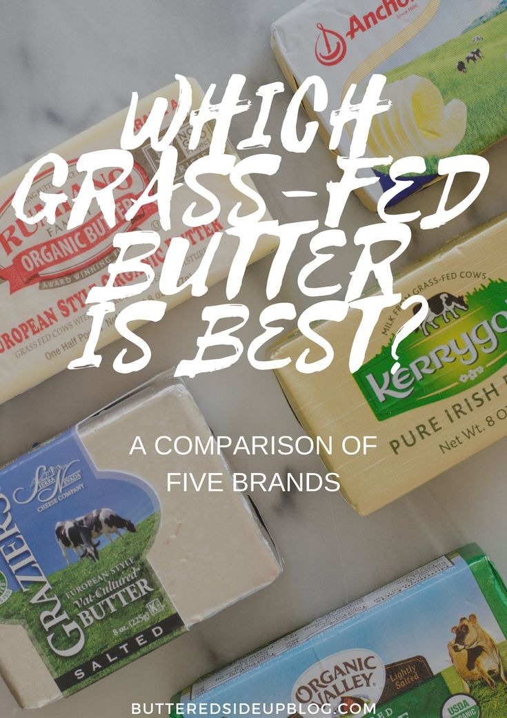 Which grass-fed butter is best? Here's my review of 5 grass-fed butter brands.