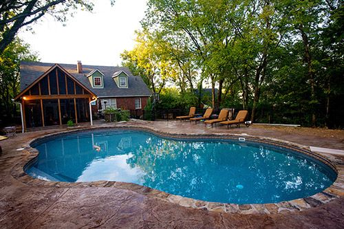 Pin by pool spa depot on swimming pools pinterest for Pool design nashville