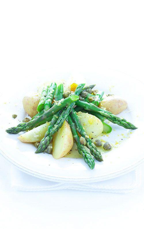 insalata asparagi e patate novelle