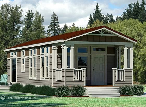 The Paradise By Palm Harbor Homes Elevation Modular