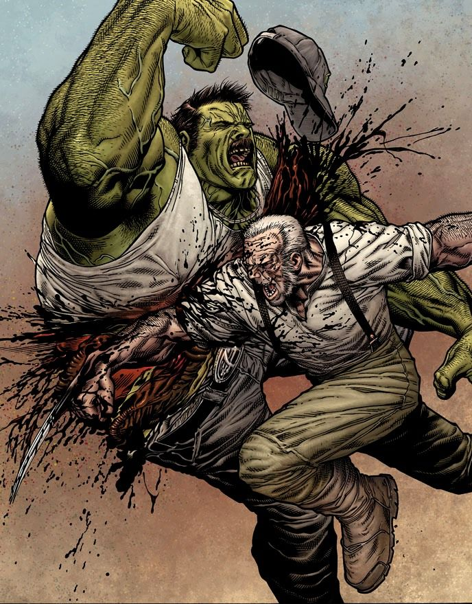 Wolverine #66 2nd Printing by Steve McNiven..Old Man Logan, loved this run.