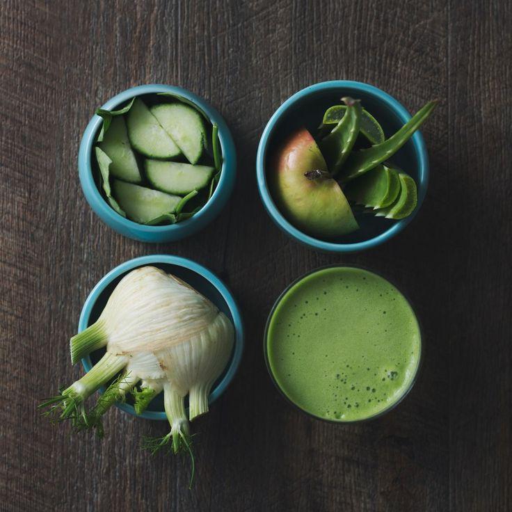 Spinach, Cucumber, Fennel, Apple & Aloe Juice
