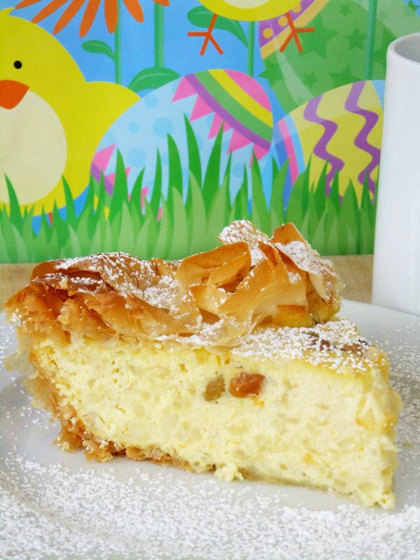 Easter Italian rice pie - can make this with a gluten free crust or no crust