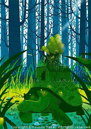 kameya by Kouzou Sakai (was born In Miyazaki, now lives In Yokohama)