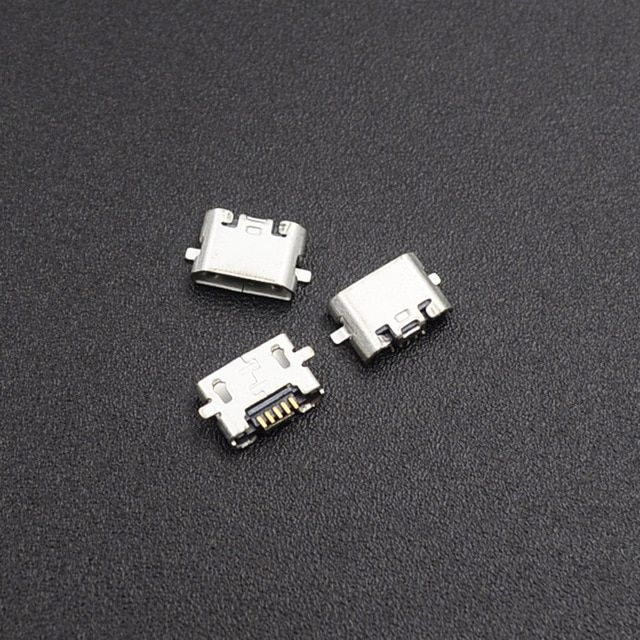10pcs Micro Usb Jack Connector Female 5 Pin Charging Socket For Huawei Review Usb Usb Flash Drive Huawei