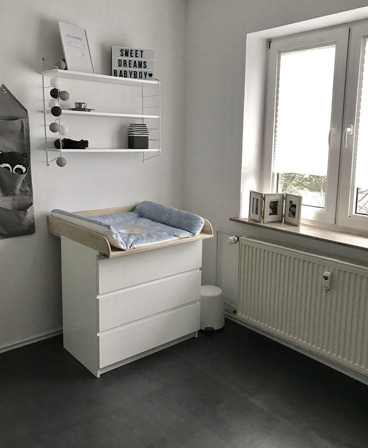 die wickelecke f r unseren kleinen prinzen die. Black Bedroom Furniture Sets. Home Design Ideas
