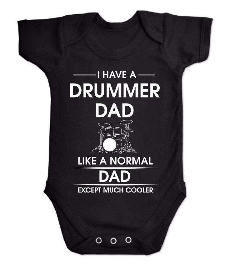 I have a drummer dad pearl paiste drumkit #zildjan drum #sticks baby suit #onesie, View more on the LINK: http://www.zeppy.io/product/gb/2/251981377978/