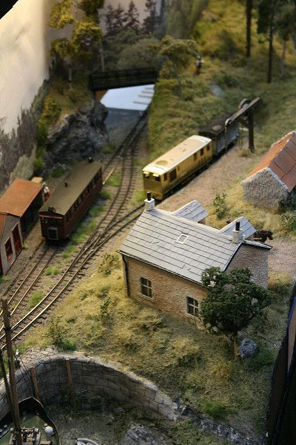 200 best model railroad images on pinterest model train layouts dunbracken 009 layout by tom dauben an interesting prot flickr publicscrutiny Image collections