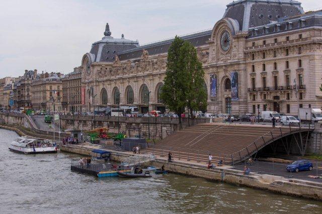 Le musée d'Orsay et le grand emmarchement ©Marc Verhille/Mairie de Paris