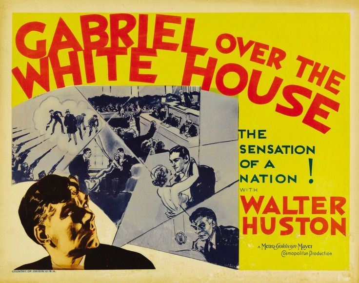 Gabriel Over the White House (1933) poster