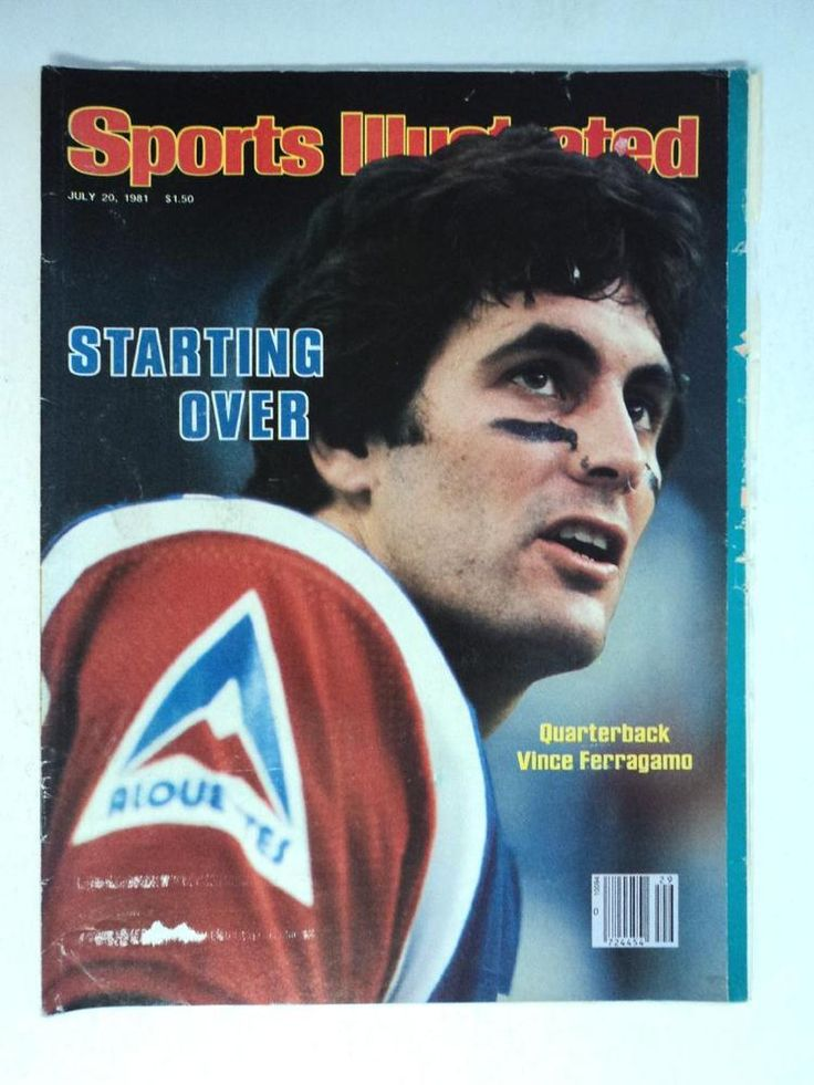 july 1981 sports illustrated football si magazine rams qb vince ferragamo from $25.83
