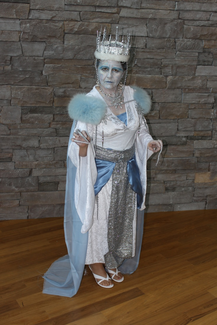 "Marilyn's elaborate ""Ice Queen"" costume was a big hit"