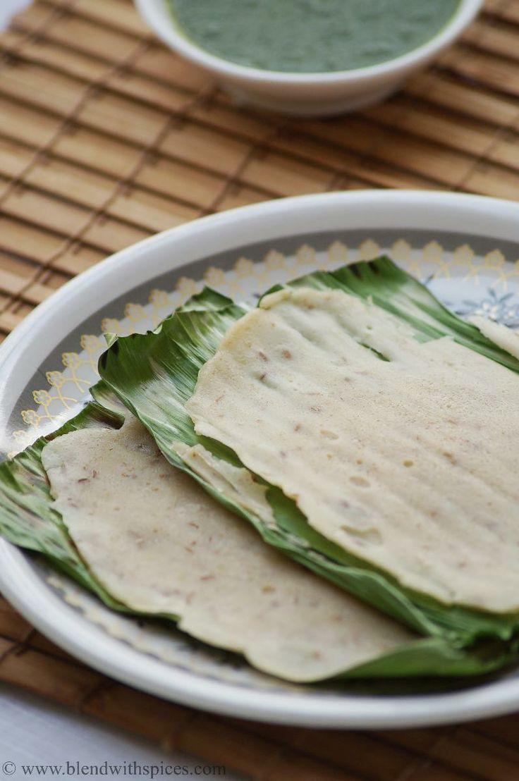 panki recipe, how to make panki, gujarati panki, gujarati snacks, gujarati breakfast recipes, rice panki