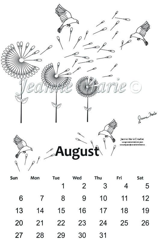 Blank Calendar Stamp : Best my colouring pages images on pinterest adult