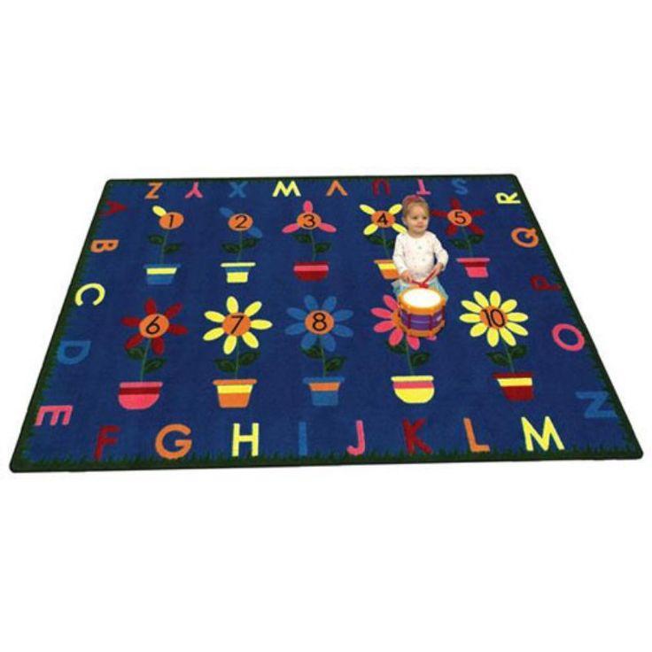 Joy Carpets Petal Pushers Kids Area Rug   1542   Kids Area RugsPlayroom  OrganizationAlphabetCarpets. Top 25  best Kids area rugs ideas on Pinterest   Rainbow room kids
