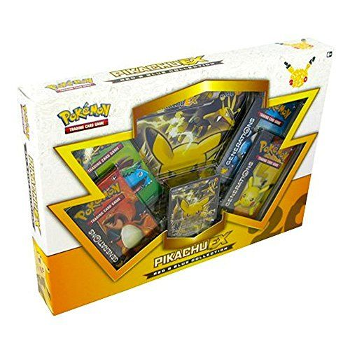 awesome       £22.42  Pikachu is one of the original superstars of the Pokemon world! Celebrate 20 years of Pokemon with the Pokemon TCG: Red & Blue...  Check more at http://fisheyepix.co.uk/shop/pokemon-pok80132-tcg-red-and-blue-collection-pikachu-ex-card-game/