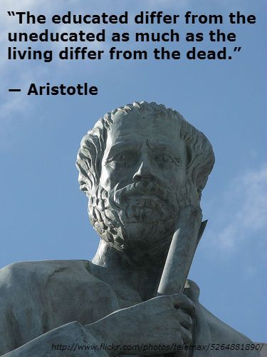 Aristotle is a realistic and pragmatic philosopher.                                                                                                                                                      More